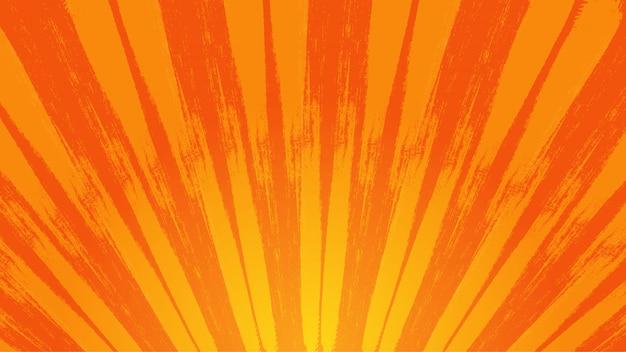Fondo de rayos de sol salpicados Vector Premium