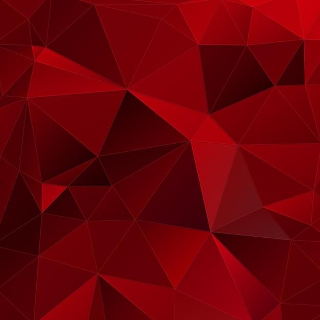 Fondo Rojo Geométrico