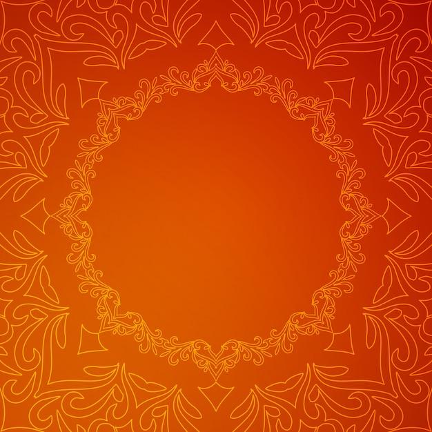 Fondo rojo de lujo con estilo abstracto vector gratuito