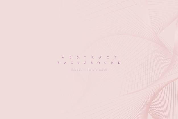 Fondo rosa minimalista vector gratuito