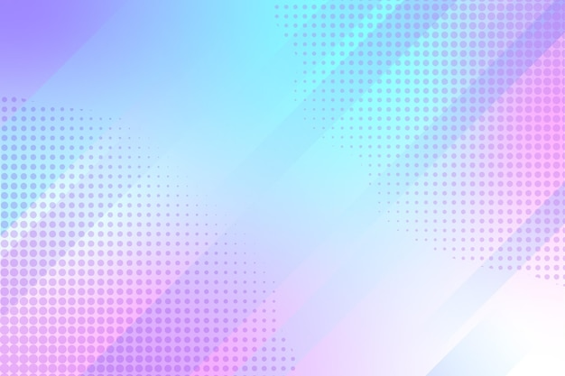 Fondo de semitono abstracto vector gratuito