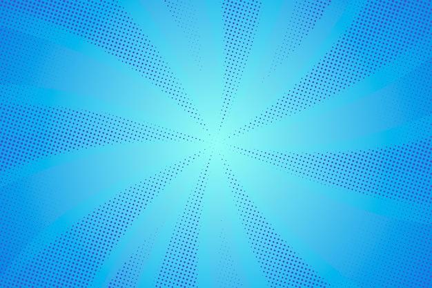 Fondo de semitono azul abstracto vector gratuito