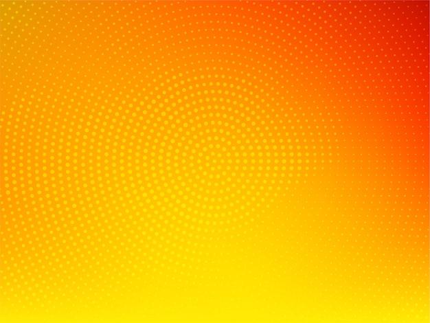 Fondo de semitono de color amarillo brillante con estilo vector gratuito