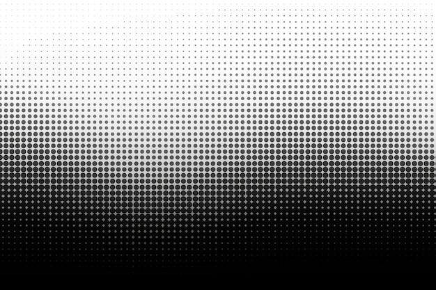 Fondo de semitono de la onda negra vector gratuito