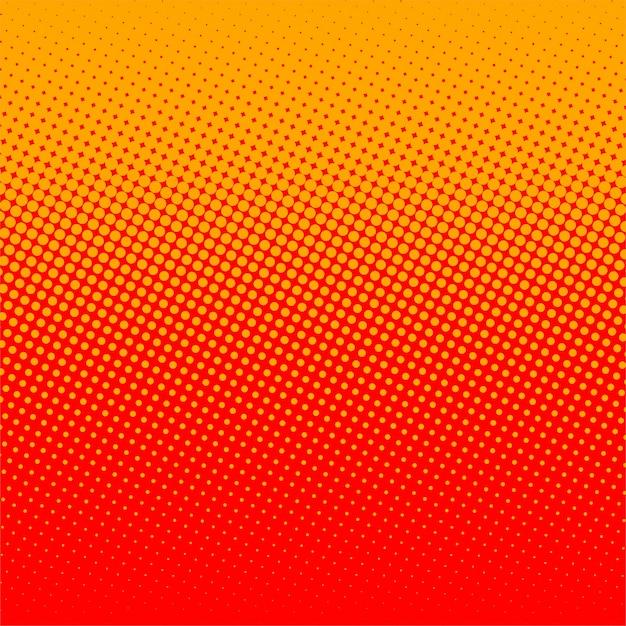 Fondo Simple Rojo Y Naranja De Semitono