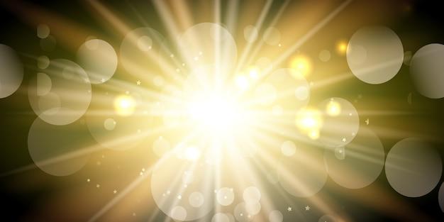 Fondo sunburst vector gratuito