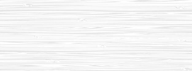 Fondo de superficie de madera blanca, tablón de textura de madera Vector Premium
