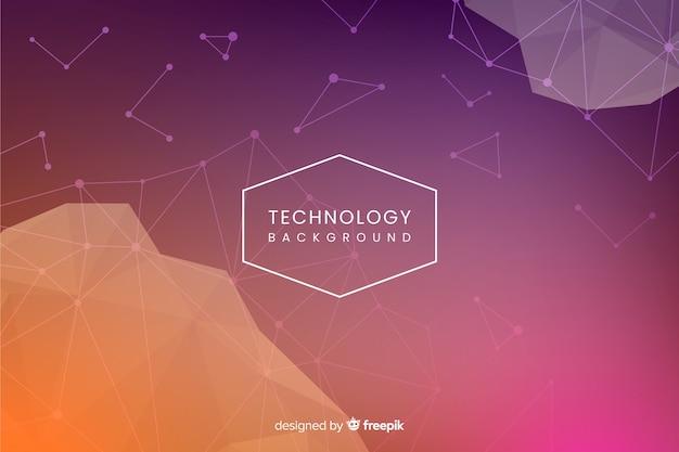 Fondo de tecnología vector gratuito