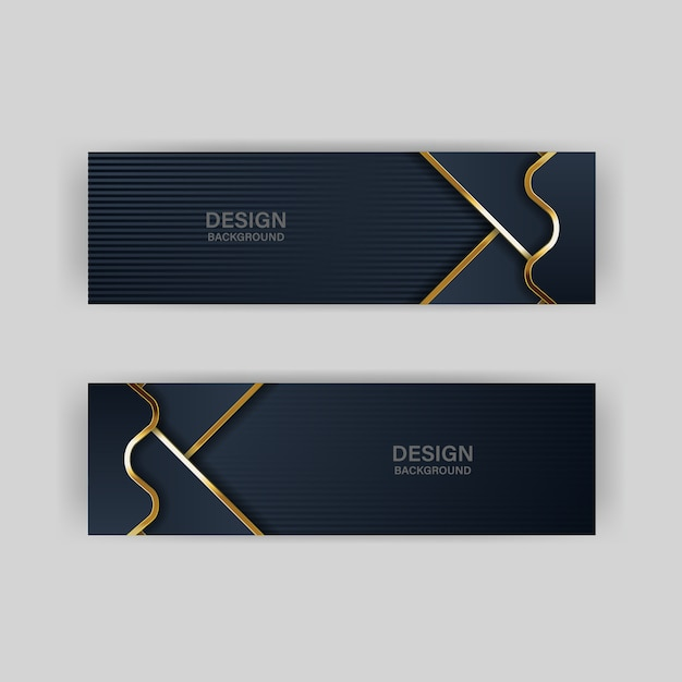 Fondo de telón de fondo de oro color dorado de lujo Vector Premium