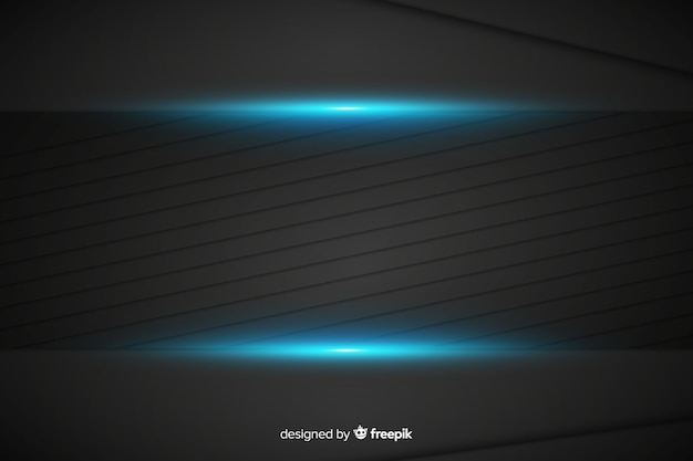 Fondo de textura azul metálico abstracto vector gratuito
