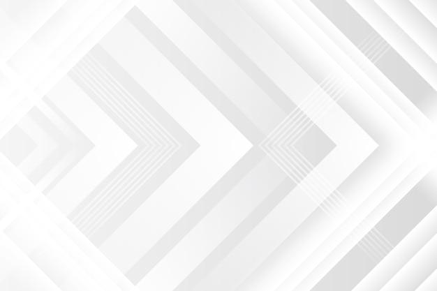 Fondo de textura blanca poligonal con flechas vector gratuito