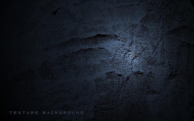 Fondo de textura degradado abstracto negro Vector Premium