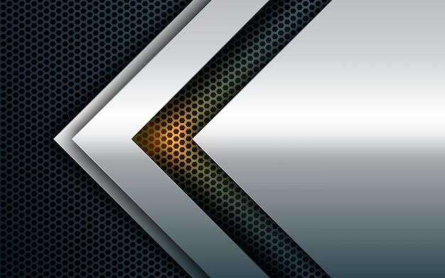 Fondo de textura de dimensión abstracta blanca Vector Premium