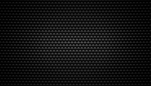 Fondo de textura de fibra de carbono negro vector gratuito