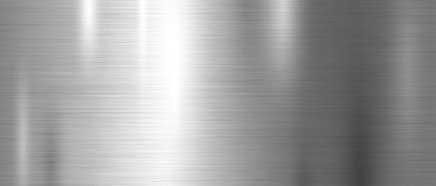 Fondo de textura de metal. Vector Premium