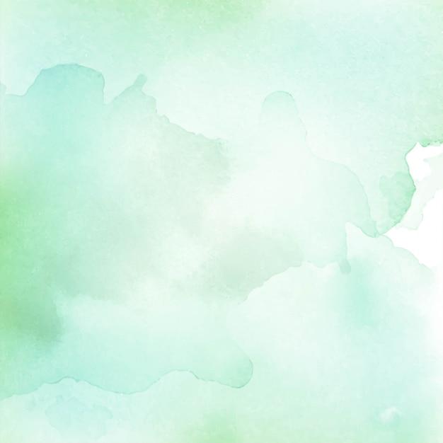 Fondo de textura verde claro acuarela abstracta vector gratuito