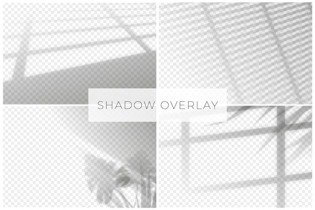 Fondo transparente para efectos de sombras Vector Premium