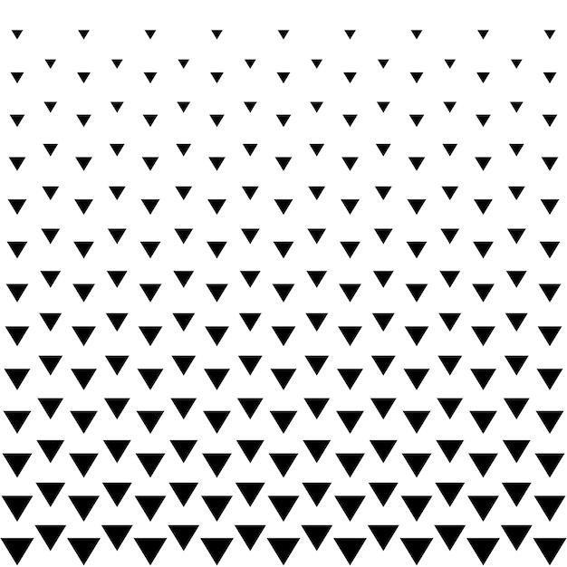 Fondo de triángulo de semitonos patrón abstracto Vector Premium