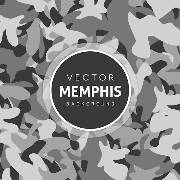 Fondo único del patrón del ejército vector gratuito