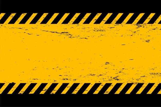 Fondo vacío abstracto amarillo y negro del estilo del grunge vector gratuito