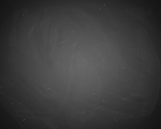Fondo de vector pizarra negra. pizarra con rastros de tiza vector gratuito