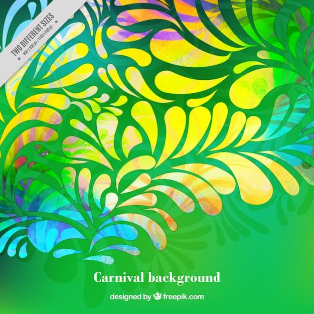 Fondo verde de formas ornamentales descargar vectores gratis for Formas ornamentales