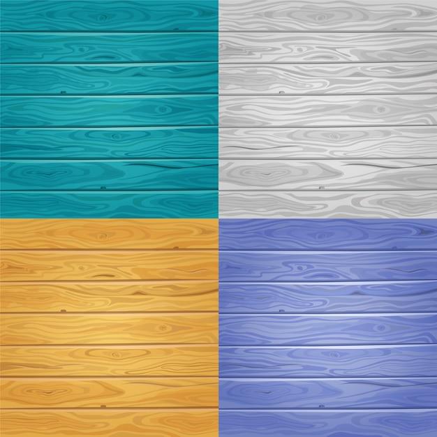 Fondos de textura de madera. vector gratuito