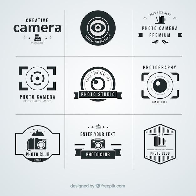Fotograf a logotipos descargar vectores premium for Camera blueprint maker gratuito