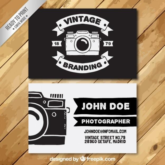 8e03e42cf0ae9 El fotógrafo tarjeta de visita