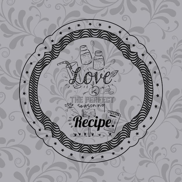 Frase De Actitud Sobre El Amor Dentro Del Icono De Marco Motivacion