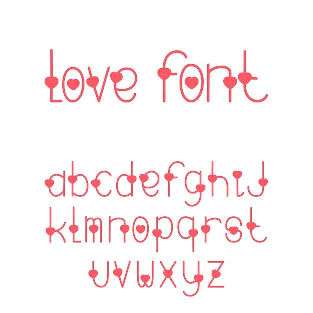 Las Fuentes Decorativas Adoran El Alfabeto Con Letras En Forma De