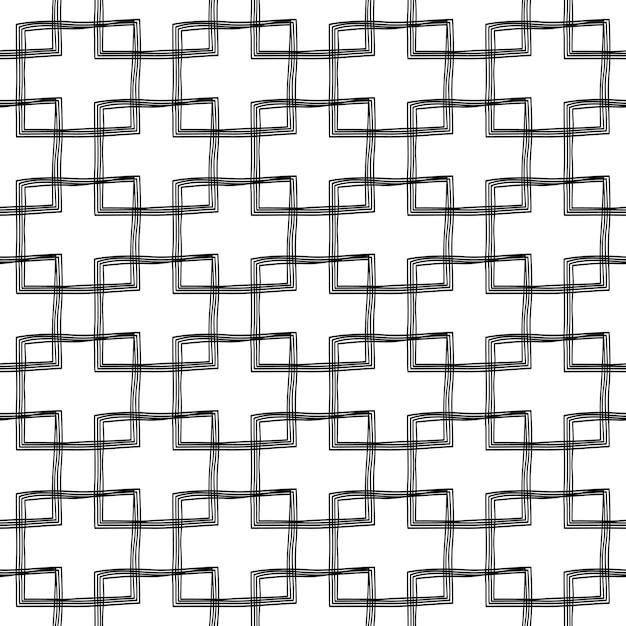 Garabato sin patrón de diseño | Descargar Vectores Premium