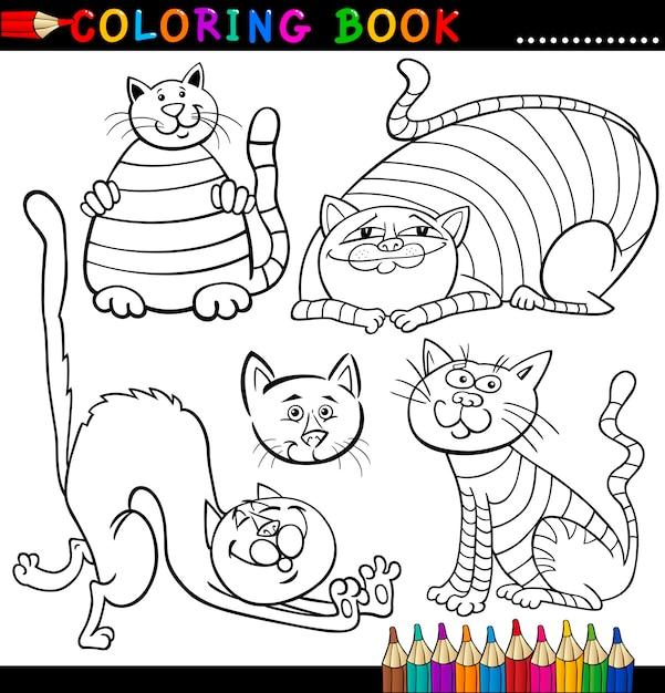 Perfecto Hoja Para Colorear Gatito Embellecimiento - Ideas Para ...