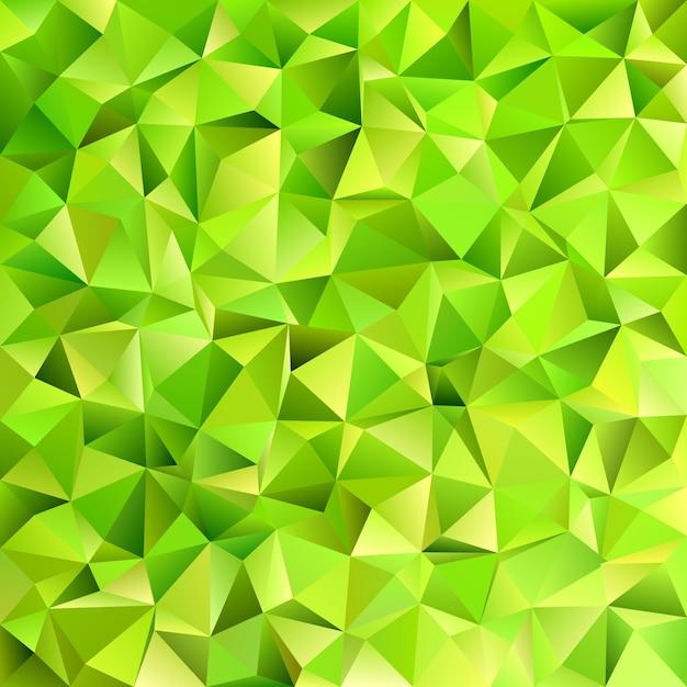 Geometrico Abstracto Irregular Triangulo De Azulejos Patron De Fondo - Tonos-verde