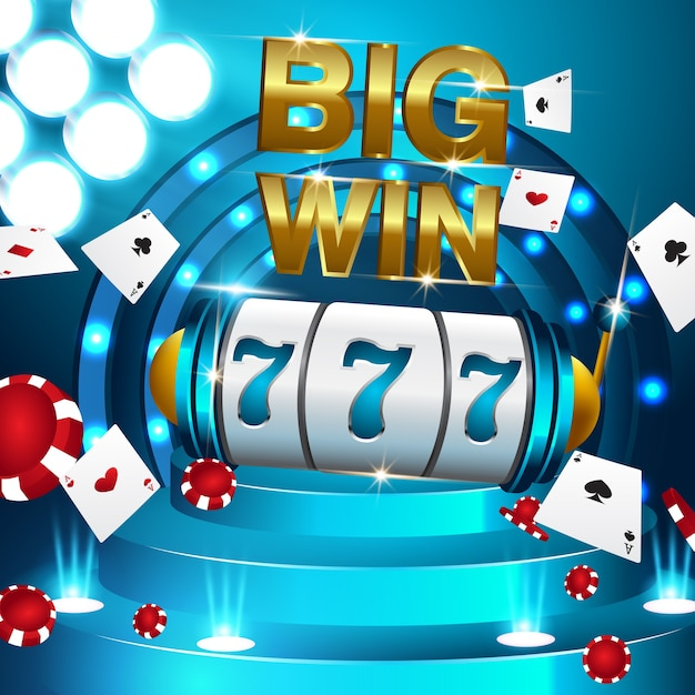 Golden Big Win Tragamonedas 777 Banner Casino Fly Monedas