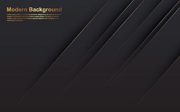 Gráfico de vector de ilustración de diagonal de fondo abstracto Vector Premium
