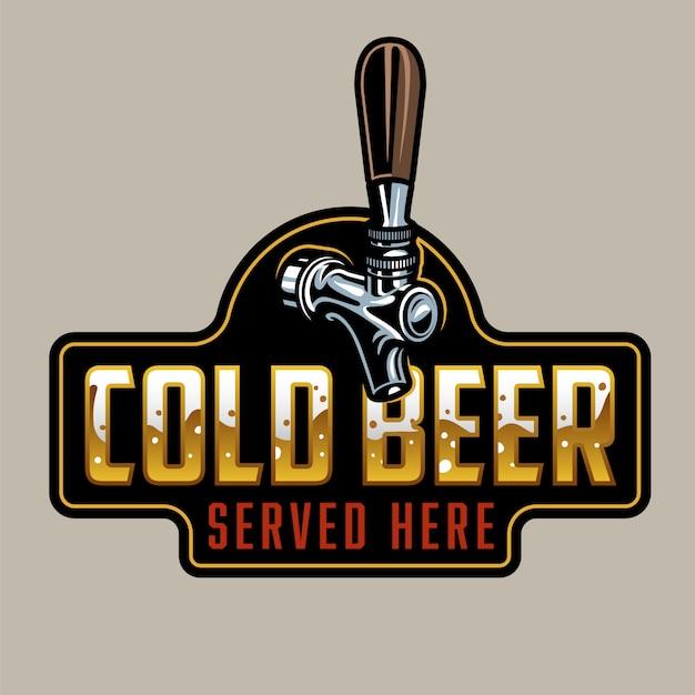 Grifo clásico de cerveza vector gratuito