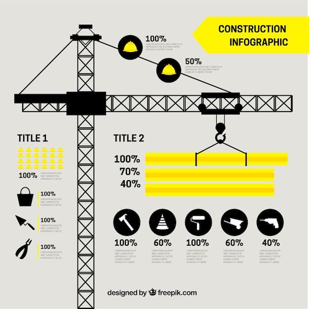 Gr a con elementos de construcci n en dise o plano for Diseno de planos de construccion