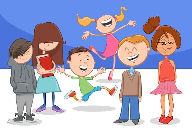 Snap Personas Dibujos Animados Grupo · Gráficos