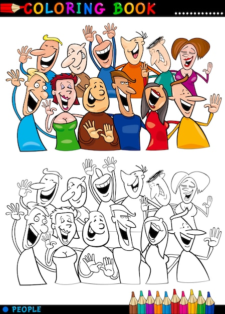 Famoso Personas Para Colorear Viñeta - Dibujos Para Colorear En ...