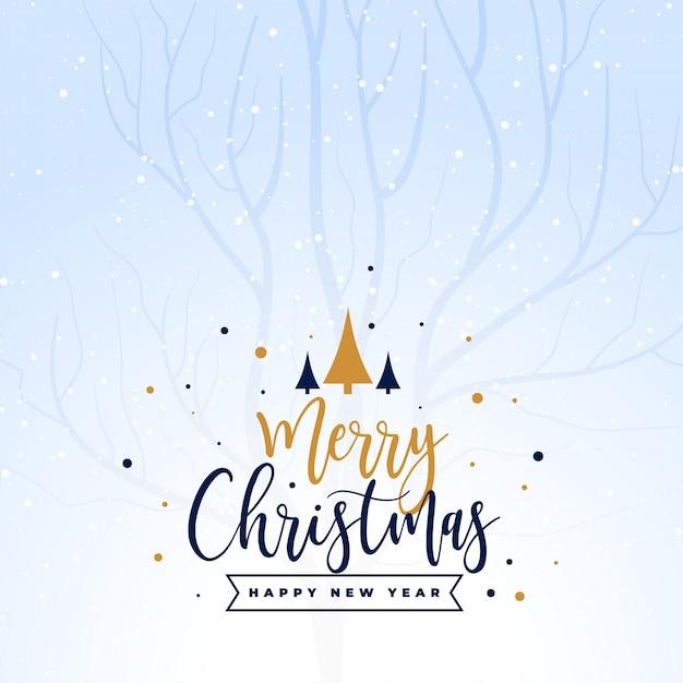Hermoso fondo feliz festival de vacaciones de navidad vector gratuito