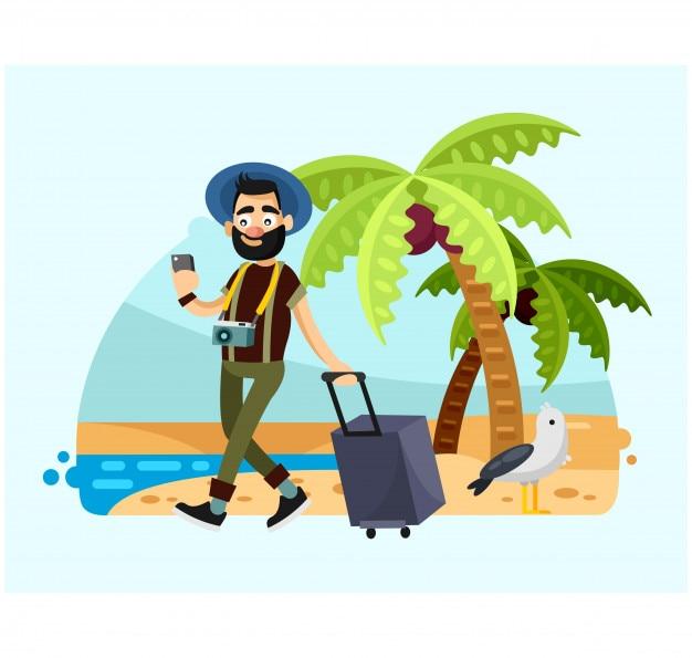 hombre barbudo disfrutar de las vacaciones en el personaje santa claus clip art pictures santa claus clip art images