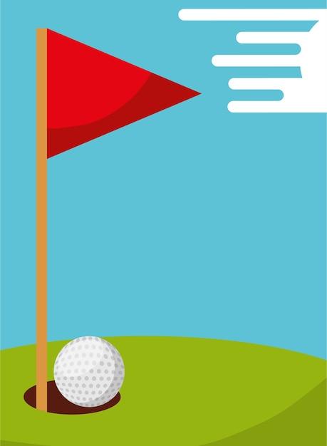 Magnífico Marcos De Bandera De Golf Ornamento - Ideas Personalizadas ...