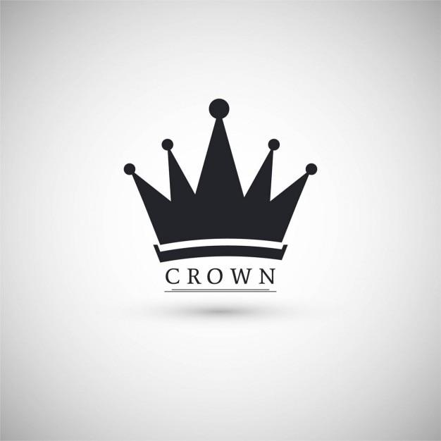 Icono con una corona vector gratuito