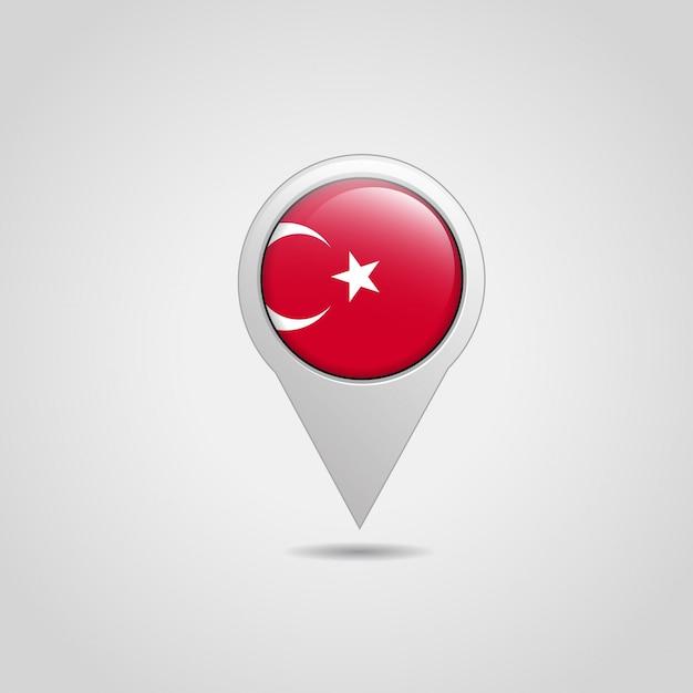 Icono de navegación con vector de bandera turca | Descargar Vectores ...