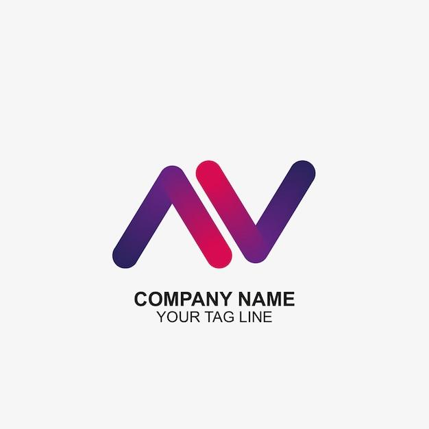 Icono de ilustración de flechas logo plantilla de diseño vector gratuito
