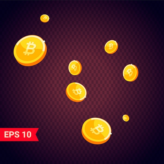 Icono de moneda con sombras Vector Premium
