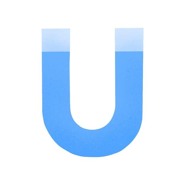 Icono de redes sociales imán vector gratuito
