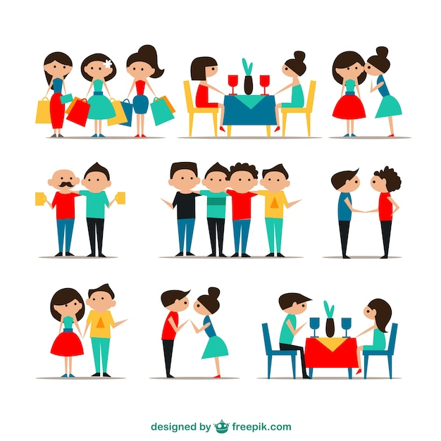 Crowd Of Indian Women Vector Avatars Stock Vector: Descargar Vectores Gratis