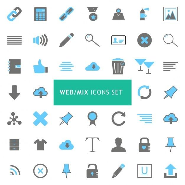 Iconos para páginas web | Descargar Vectores gratis